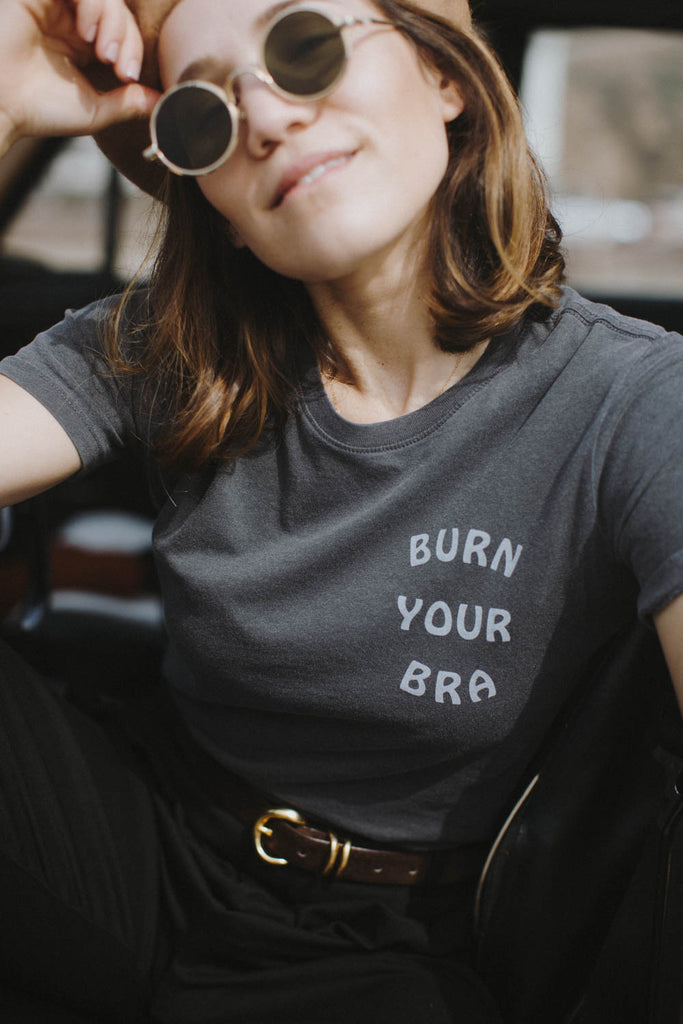 Burn Your Bra | Fitted Crewneck