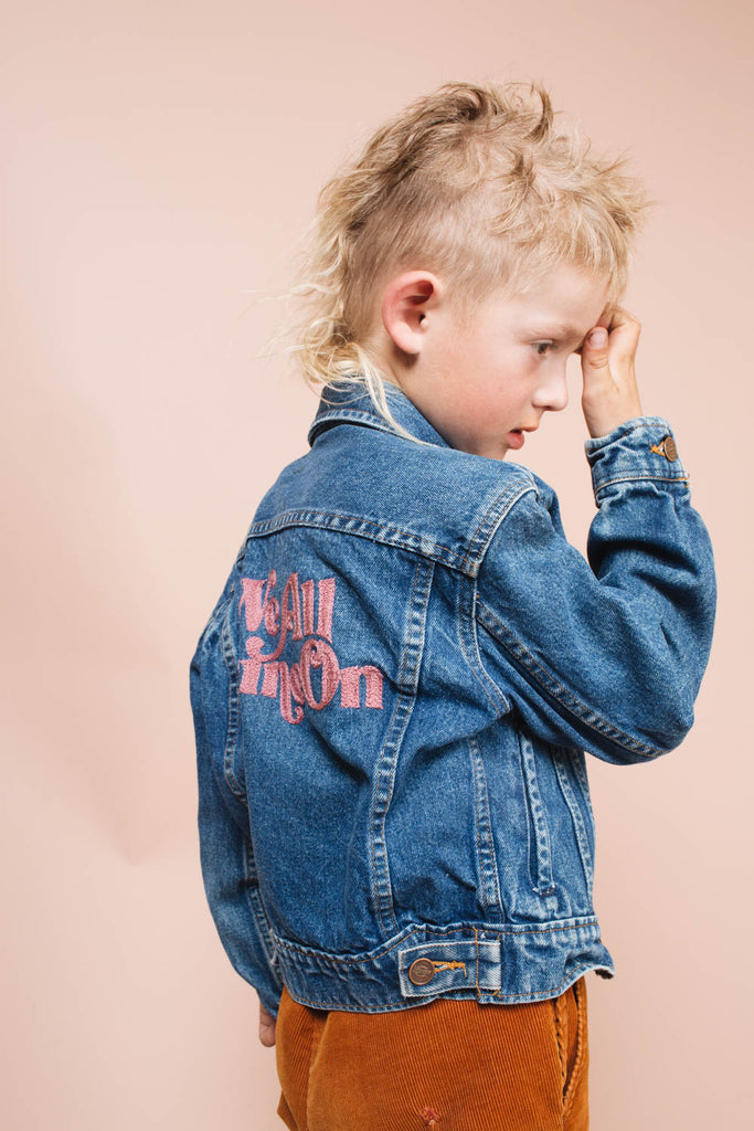 We All Shine On | Kids Jean Jackets