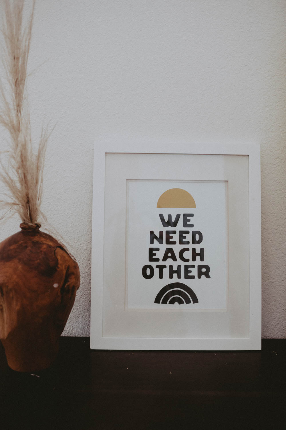 Letterpress: We Need Each Other