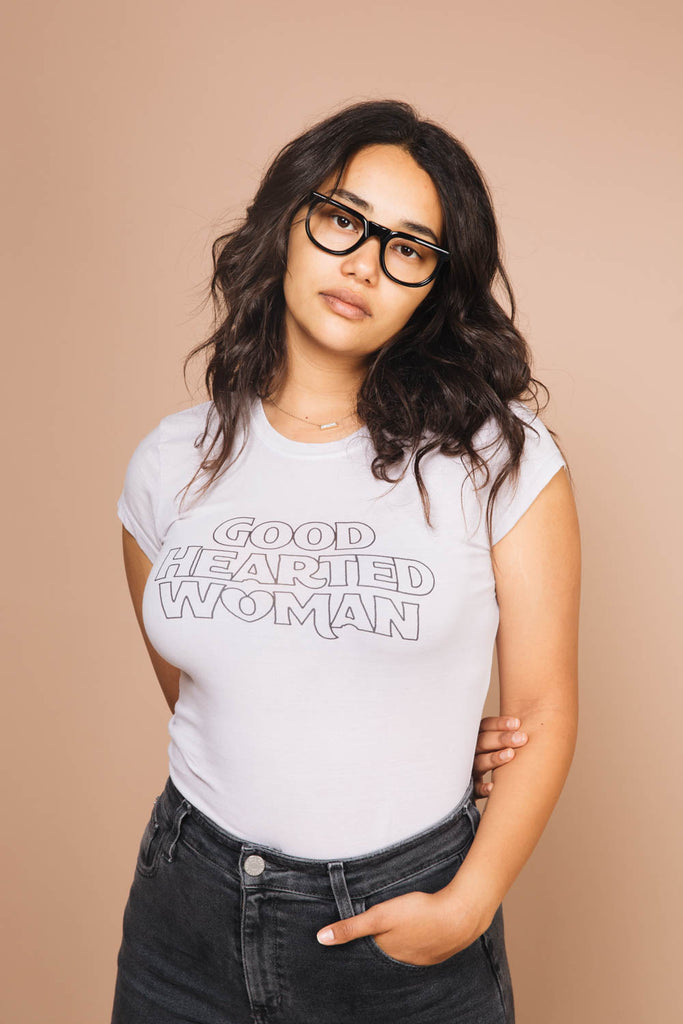 Good Hearted Woman | Fitted Tee