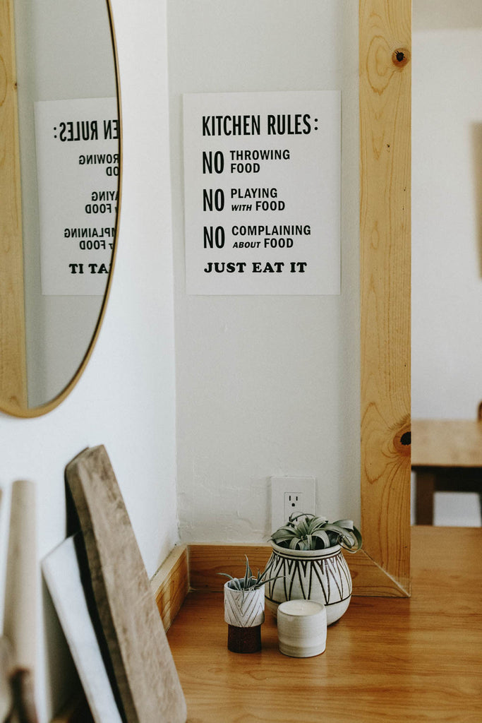 Letterpress: Kitchen Rules
