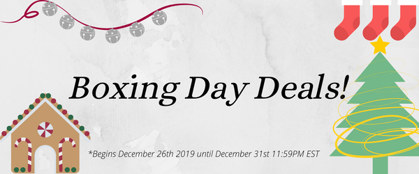 Upcoming Boxing Day Deals 2019