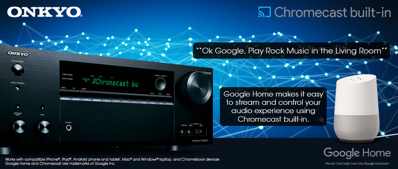 Free Chromecast Update For Your Onkyo Receiver