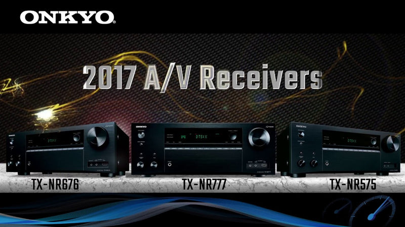 Onkyo 2017 Receiver Comparison