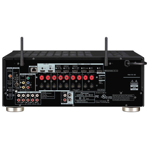 Pioneer VSX-1131 7.2 Channel Receiver Back