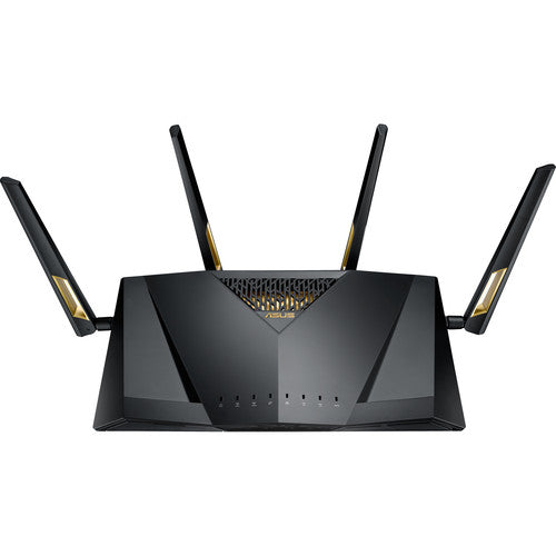 ASUS RT-AX88U Quad-Core Wireless Dual Band WiFi Adaptive QoS AX6000 Router (Certified Refurbished)