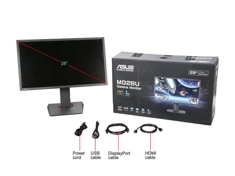 Asus MG28UQ Packaging