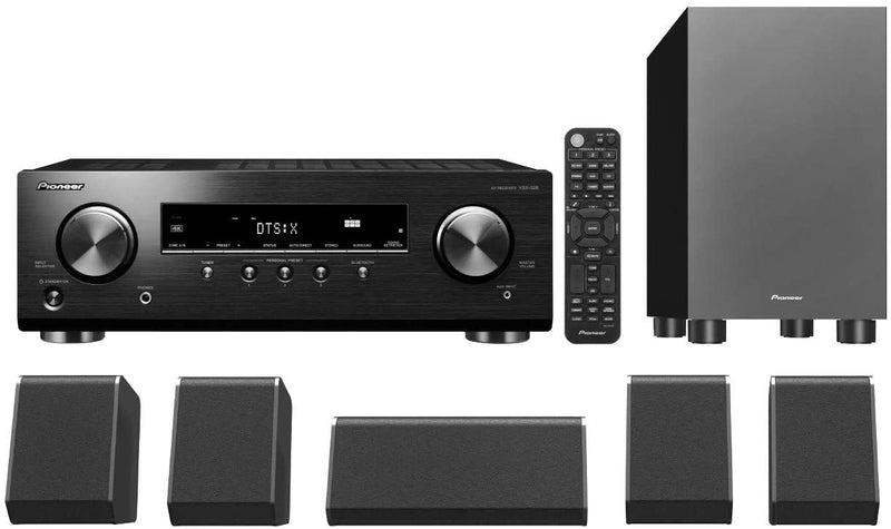 Pioneer HTP-076 5.1-Channel Home Theater Package (Certified Refurbished)