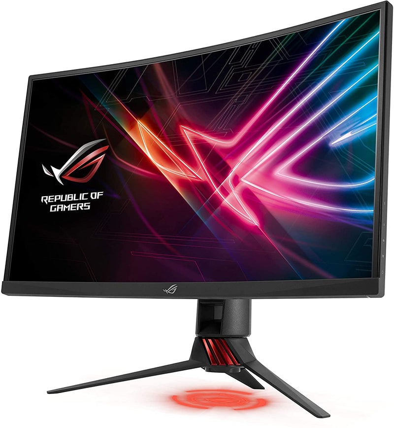 Asus ROG Strix XG248Q Gaming Monitor – 24 inch (23.8 inch viewable) FHD (1920x1080), Native 240Hz, 1ms, G-SYNC Compatible, Adaptive-Sync, Asus Aura Sync (Certified Refuribished)