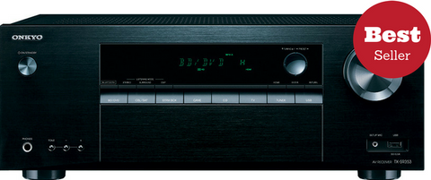 Onkyo TX-SR353 5.1 Channel A/V Receiver 4K Bluetooth 700W (B-STOCK)