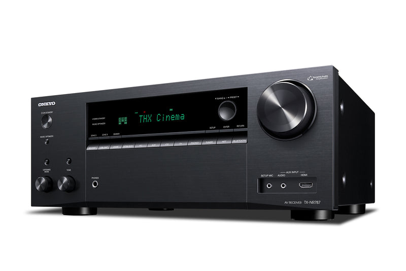 Onkyo TX-NR787 Front Angled