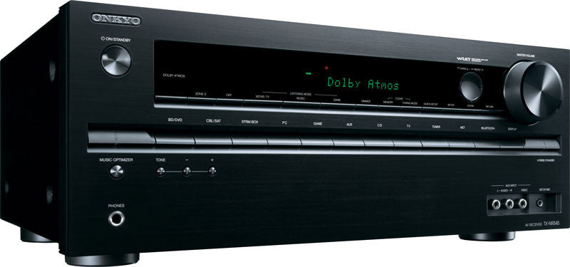 Onkyo TX-NR545 7.2-Channel Receiver (Certified Refurbished)