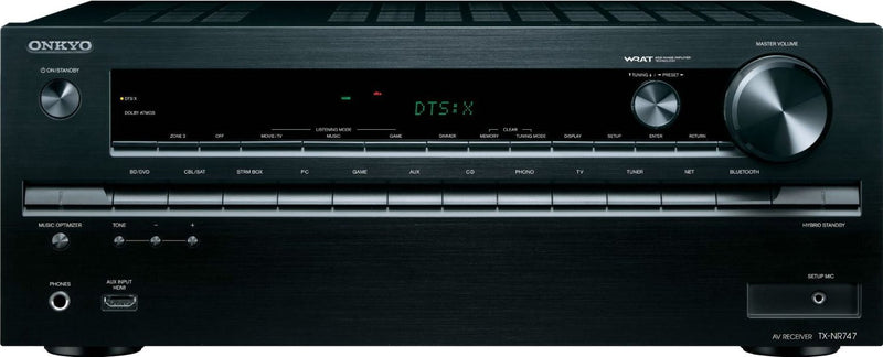 Onkyo TX-NR747 7.2-Channel Receiver (B-STOCK)
