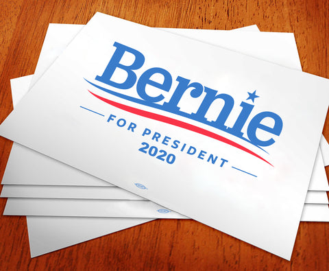 Bernie Sanders For President 2020 Rally Sign
