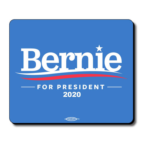 Bernie Sanders For President 2020 Blue Mouse Pad