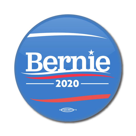 Bernie Sanders for President 2020 Blue Campaign Button