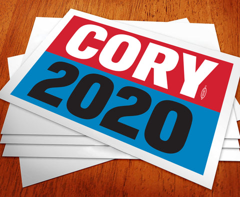 Cory Booker For President 2020 Rally Sign