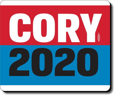 Cory Booker For President 2020 Blue Mouse Pad