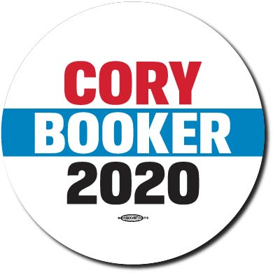 Cory Booker for President 2020 Campaign Button 5-Pack