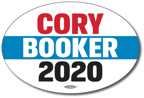 Cory Booker for President 2020 Oval Bumper Sticker