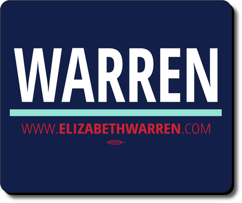 Elizabeth Warren For President 2020 Blue Mouse Pad