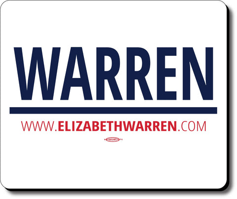 Elizabeth Warren For President 2020 White Mouse Pad