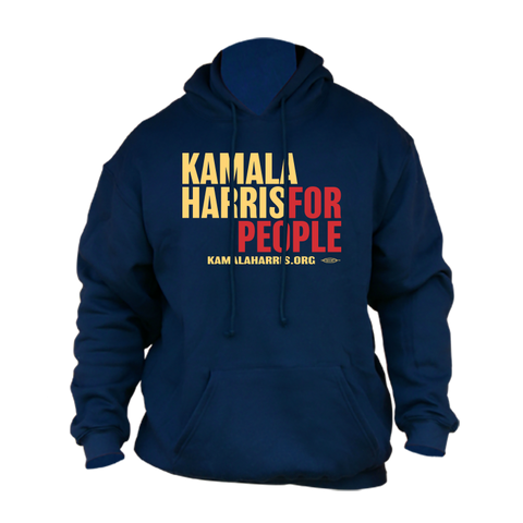 Kamala Harris for President 2020 Navy Hoodie