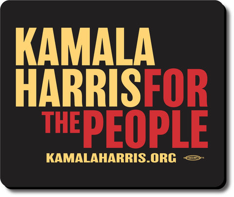 Kamala Harris For President 2020 Black Mouse Pad