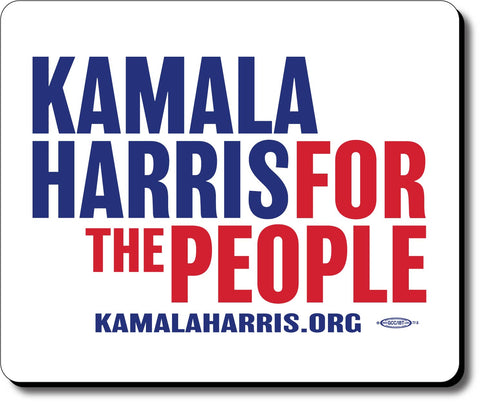 Kamala Harris For President 2020 White Mouse Pad