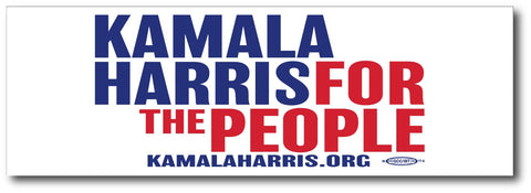 Kamala Harris For President 2020 White Magnetic Bumper Sticker