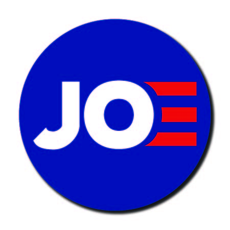 Joe Biden for President 2020 Blue Campaign Button 5-Pack