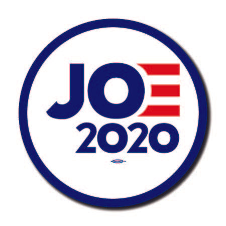 Joe Biden for President 2020 White Campaign Button 5-Pack
