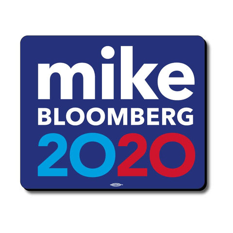 Michael Bloomberg For President 2020 Blue Mouse Pad