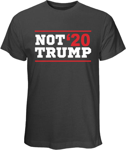 Not Trump 20 Gray T Shirt