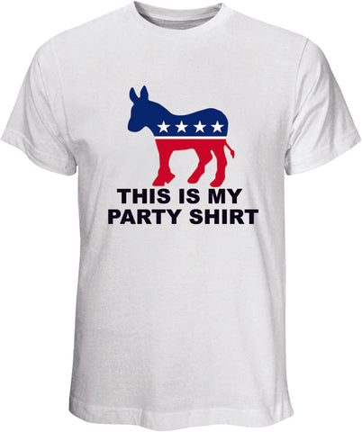 This Is My Party WhiteT Shirt
