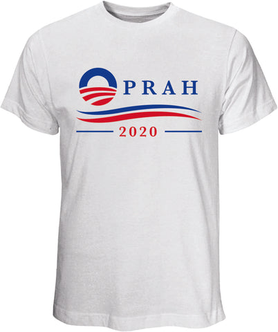 Oprah 2020 White T Shirt
