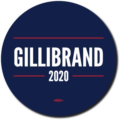 Kristen Gillibrand for President 2020 Blue Campaign Button 5-Pack
