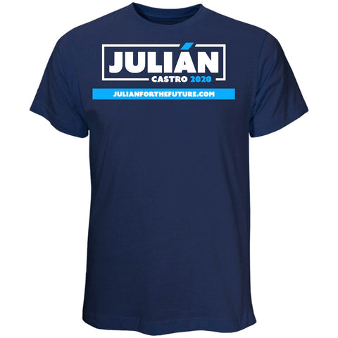 Julián Castro for President 2020 Navy T-Shirt