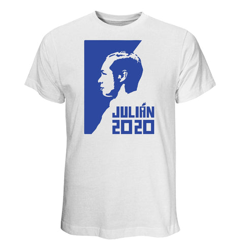 Julián Castro for President 2020 White T-Shirt