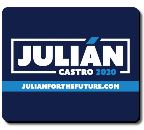 Julián Castro For President 2020 Navy Mouse Pad