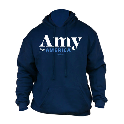 Amy Klobuchar for America 2020 Navy Hoodie