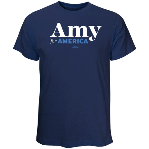Amy Klobuchar for America 2020 Navy T-Shirt