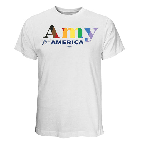 Amy Klobuchar for America 2020 Pride T-Shirt
