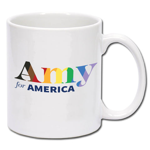 Amy Klobuchar for America 2020 Pride Coffee Mug