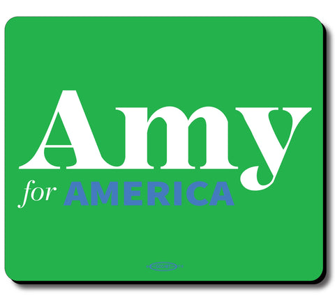 Amy Klobuchar for America 2020 Green Mouse Pad