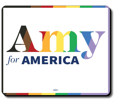 Amy Klobuchar for America 2020 Pride Mouse Pad