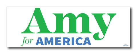 Amy Klobuchar for America 2020 Bumper Sticker