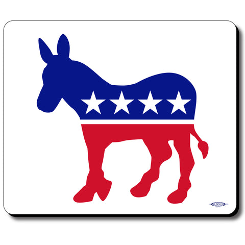 Democrat - Red, White & Blue Mouse Pad