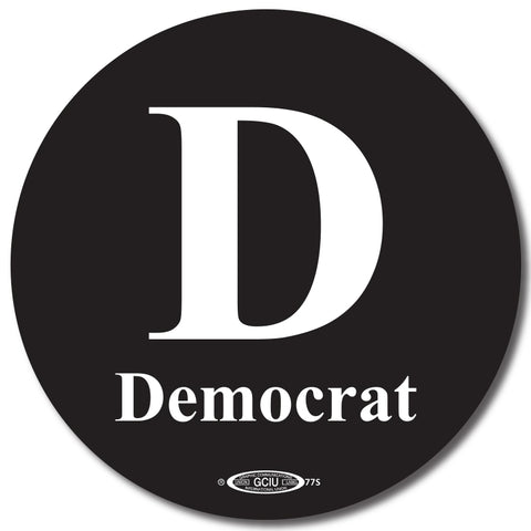 Democratic Button