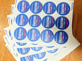 Bernie 2020 Round Sticker Sheets
